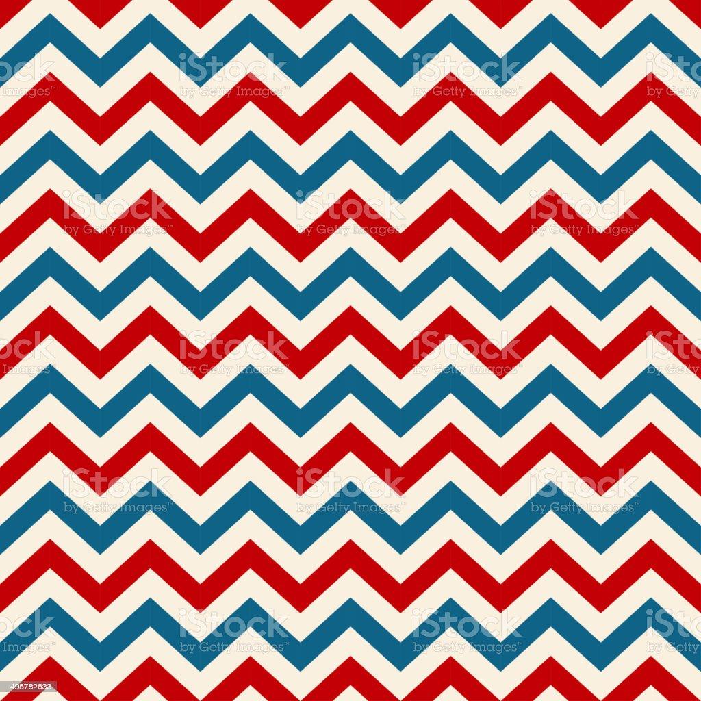Retro background american patriotic colors vector art illustration