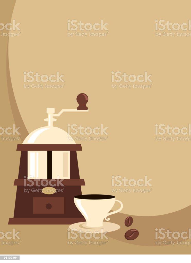Retro background - coffee theme royalty-free retro background coffee theme stock vector art & more images of antique