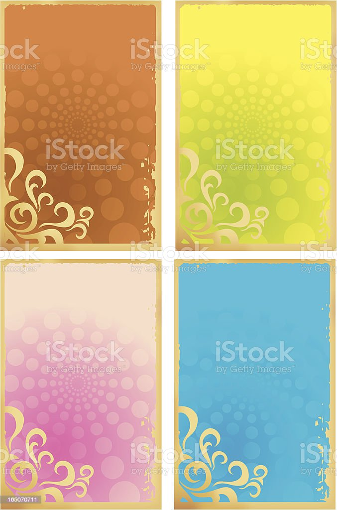 retro background design royalty-free stock vector art