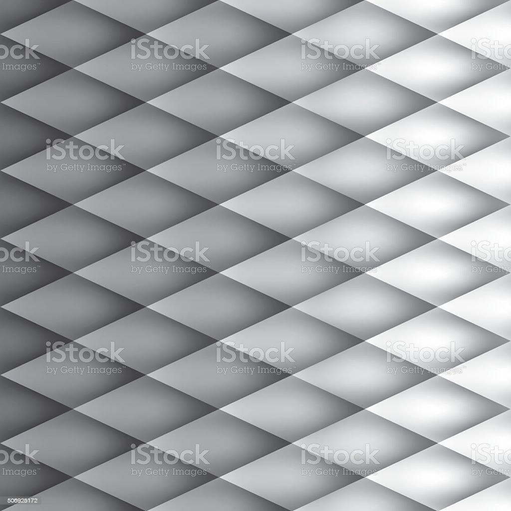 Retro background, pattern rhombs, mesh gradient vector art illustration