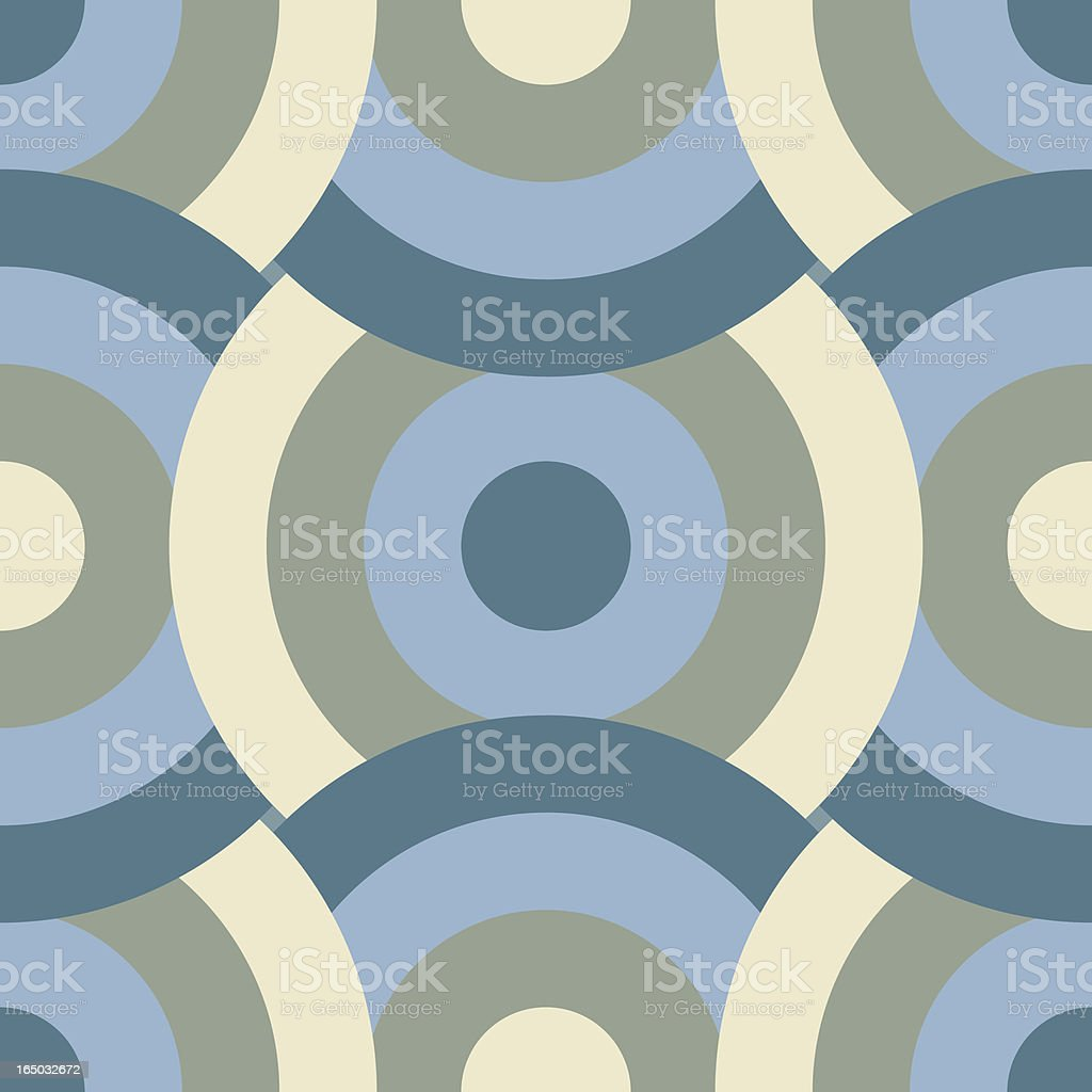 Retro Background Tiles - Colors from the Sea royalty-free stock vector art