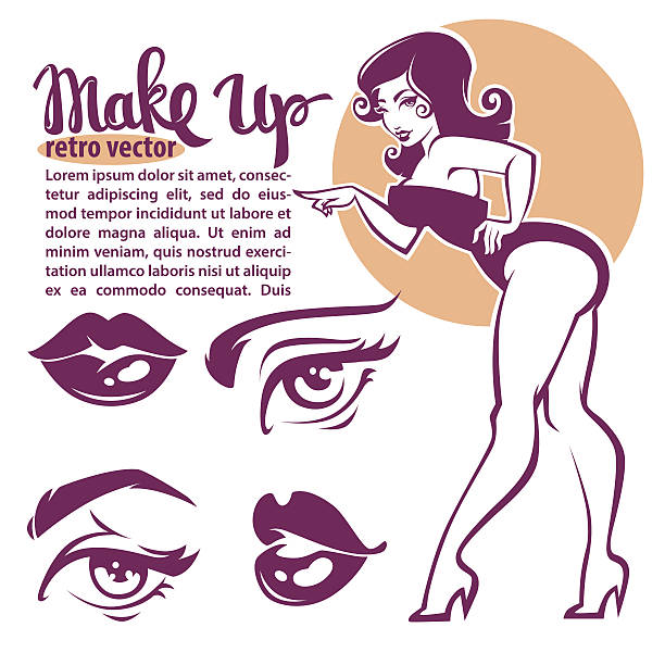 royalty free pin up girl clip art vector images illustrations