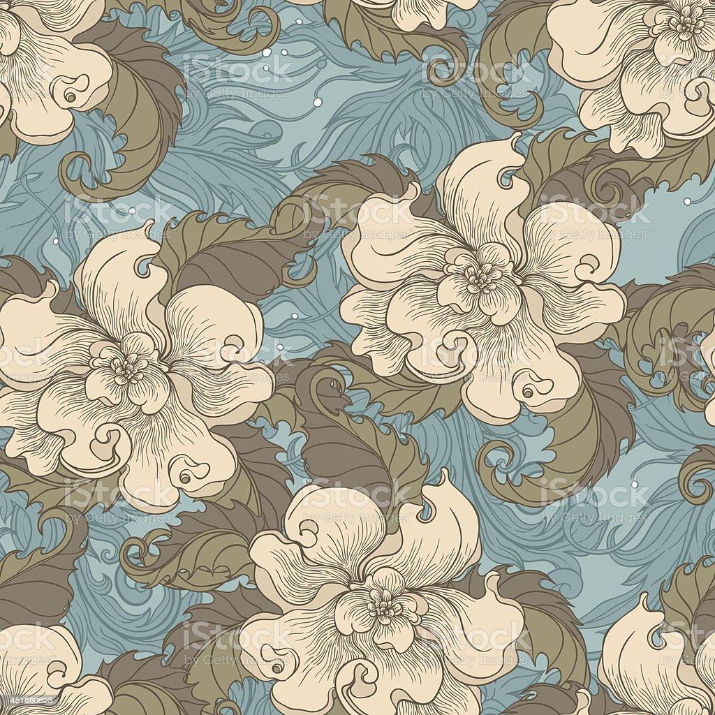 retro beige colors royalty-free stock vector art