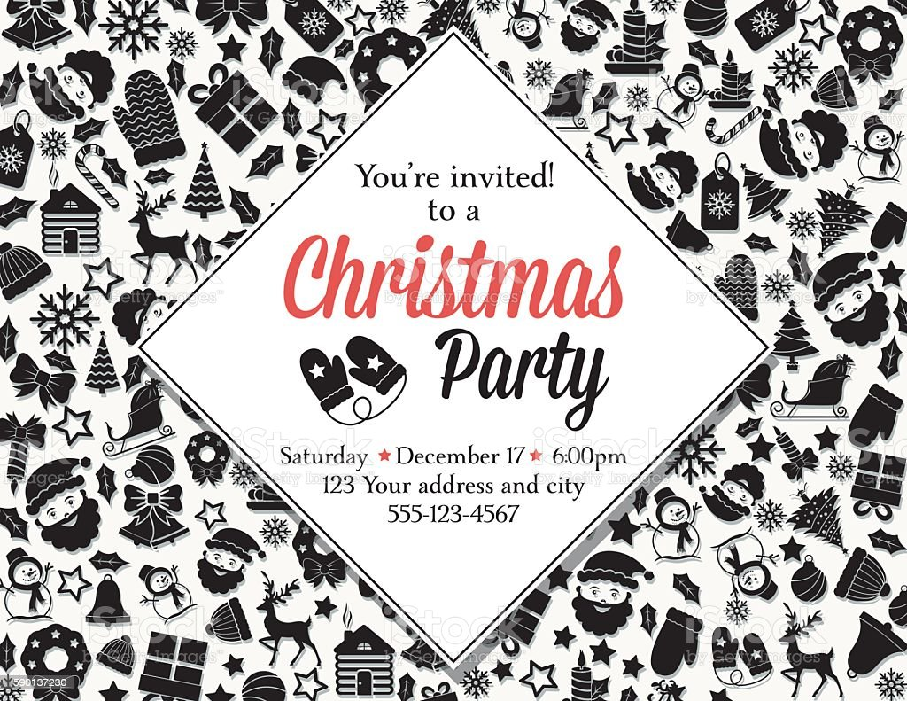 Amazing Invite For Christmas Party Inspiration - Invitations Design ...