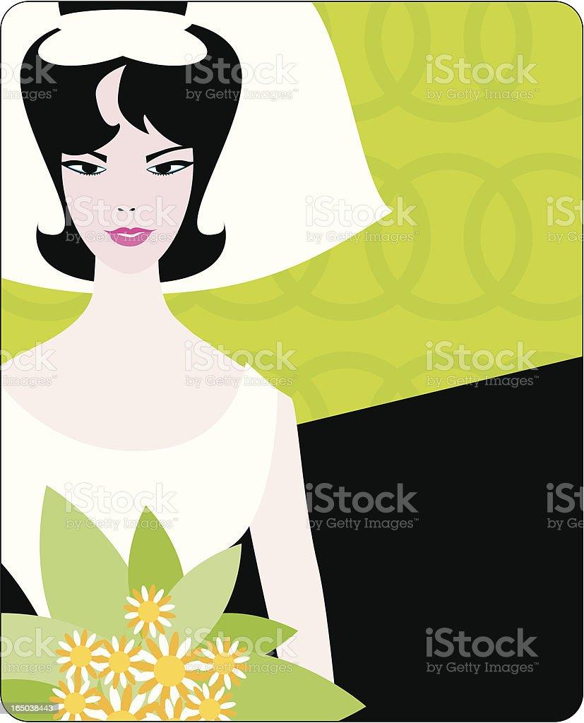 retro bride royalty-free retro bride stock vector art & more images of 1950-1959