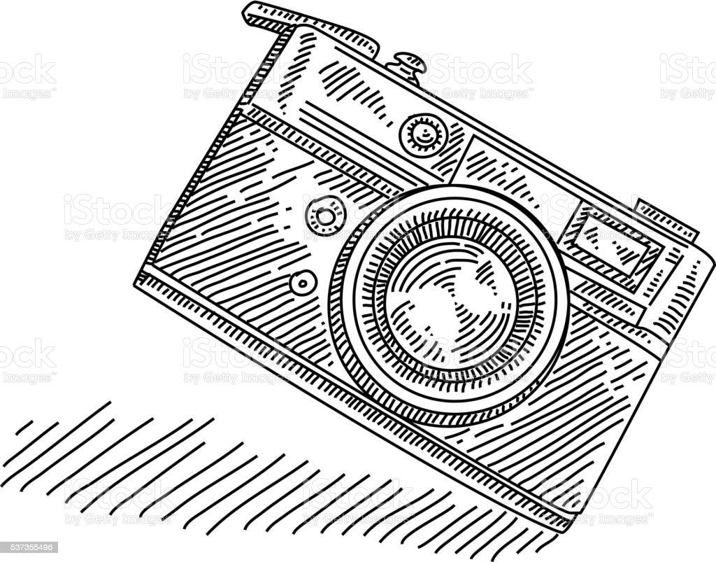 Dessin Appareil Photo appareil photo rétro de dessin – cliparts vectoriels et plus d