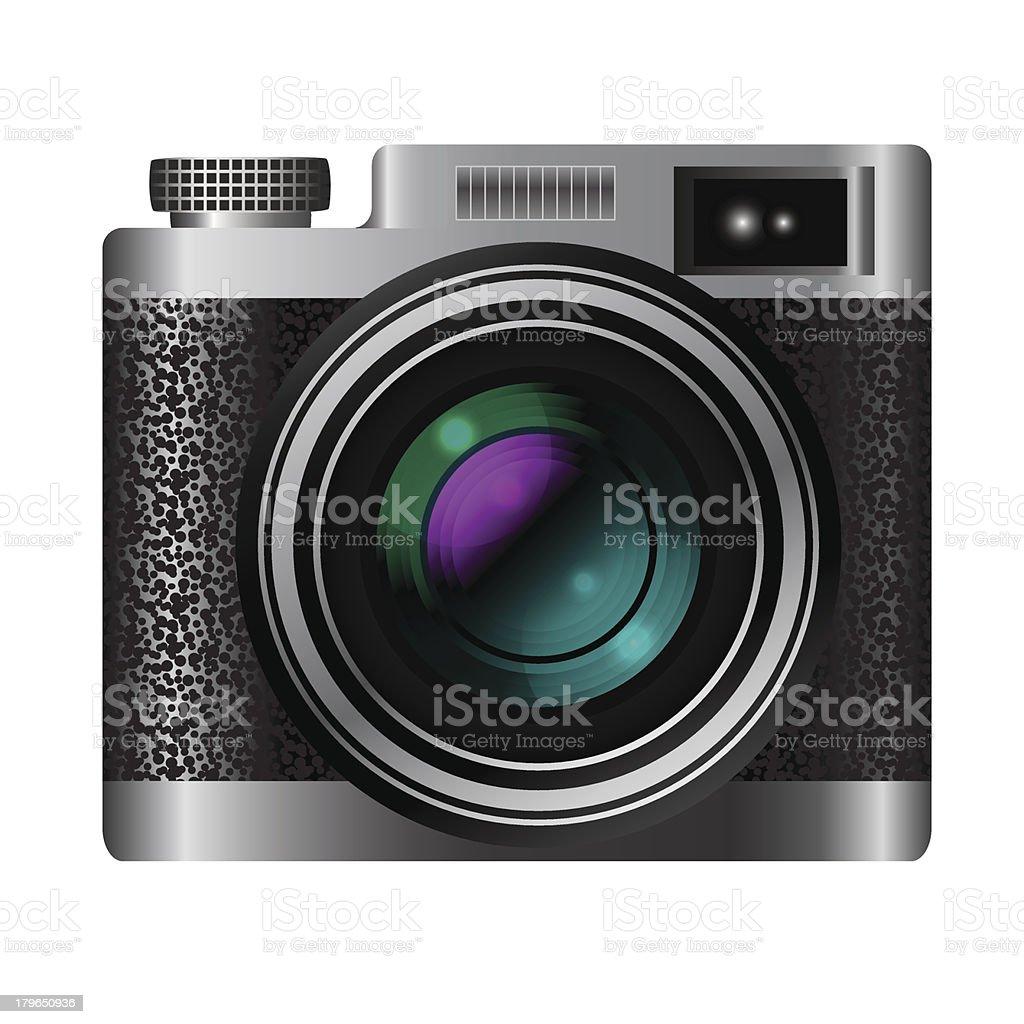 Retro camera icon royalty-free stock vector art