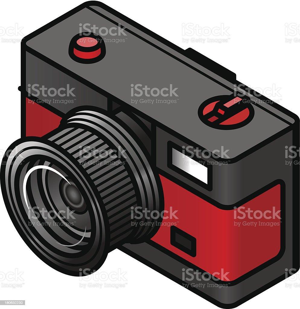 Retro camera royalty-free stock vector art
