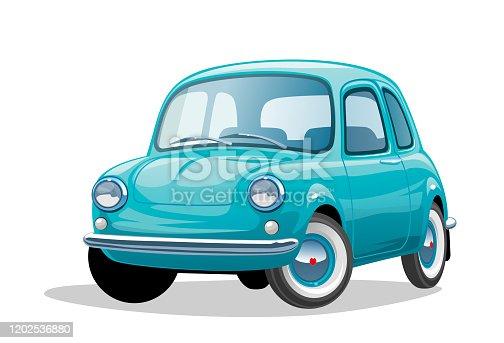 istock Retro car 1202536880
