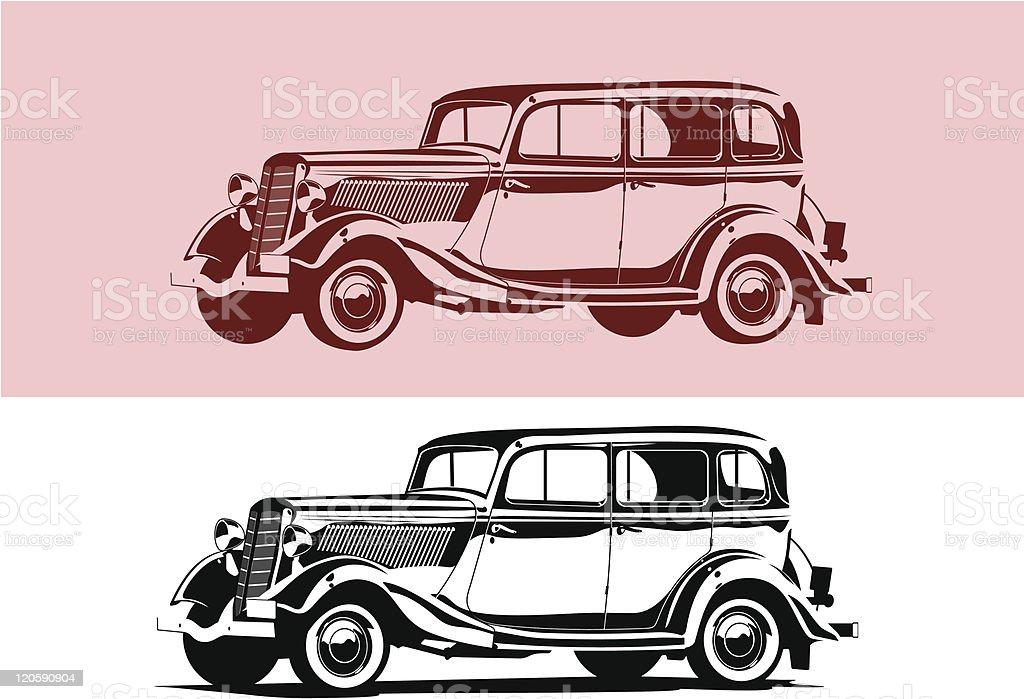 retro car royalty-free retro car stock vector art & more images of car