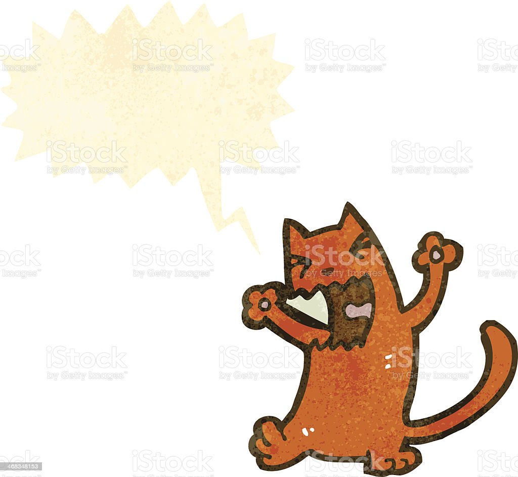 retro cartoon cat royalty-free retro cartoon cat stock vector art & more images of bizarre