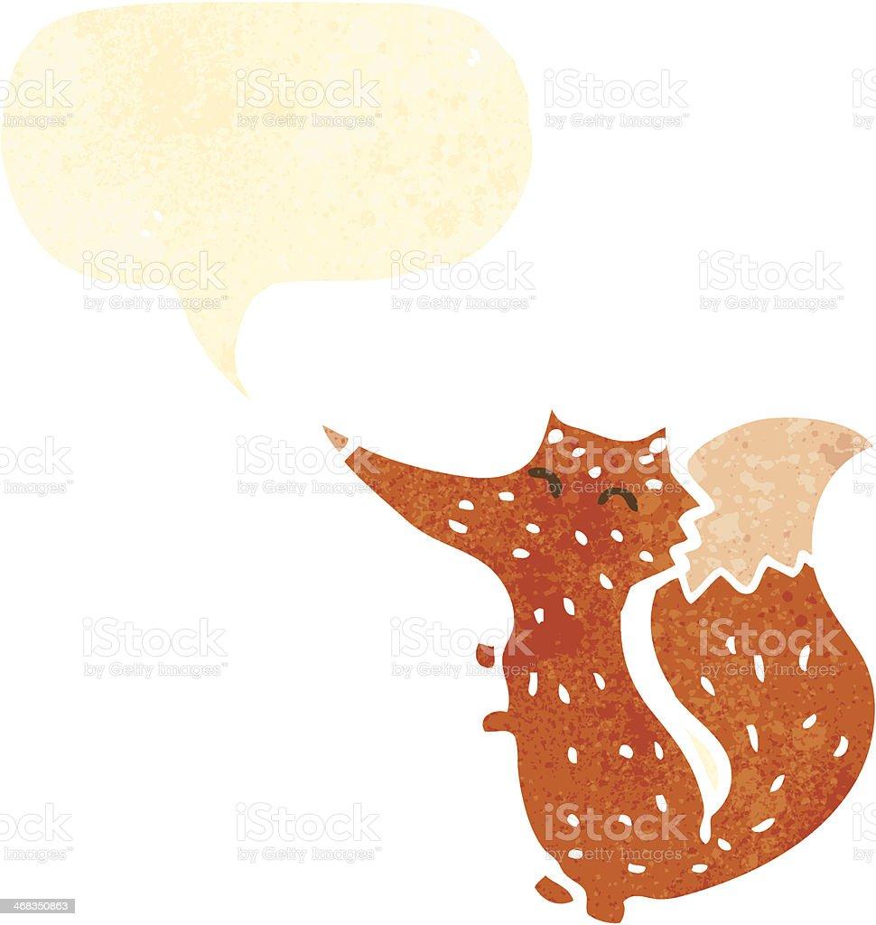 retro cartoon fox royalty-free retro cartoon fox stock vector art & more images of animal