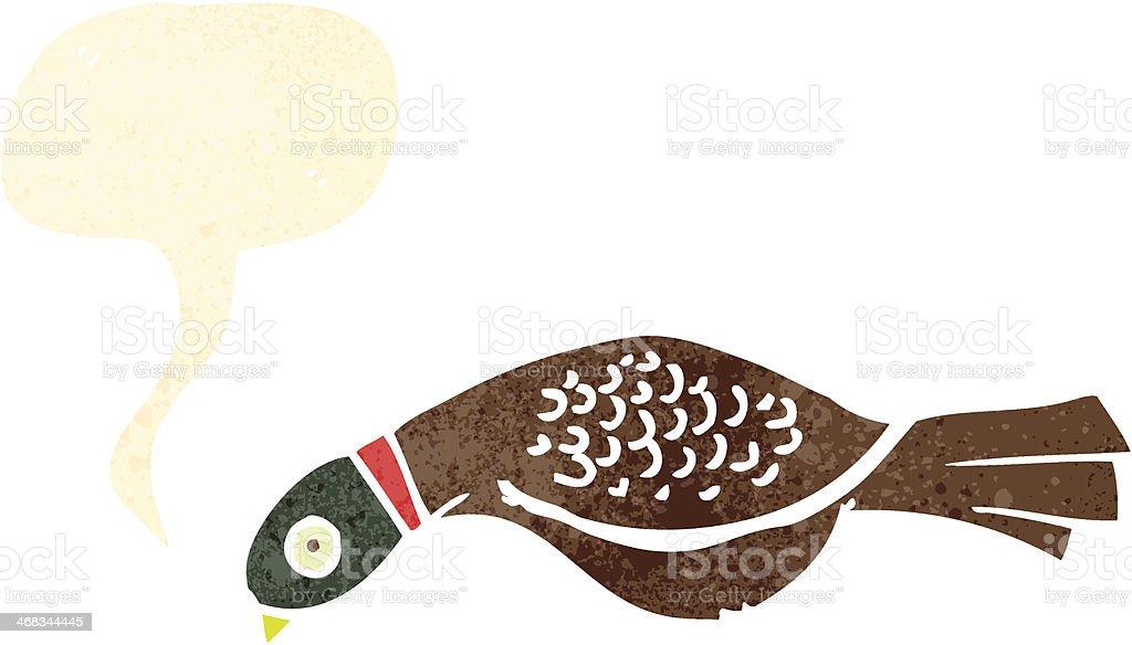 retro cartoon pheasant royalty-free retro cartoon pheasant stock vector art & more images of bird