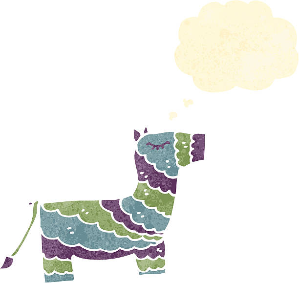 royalty free donkey pinata clip art vector images illustrations