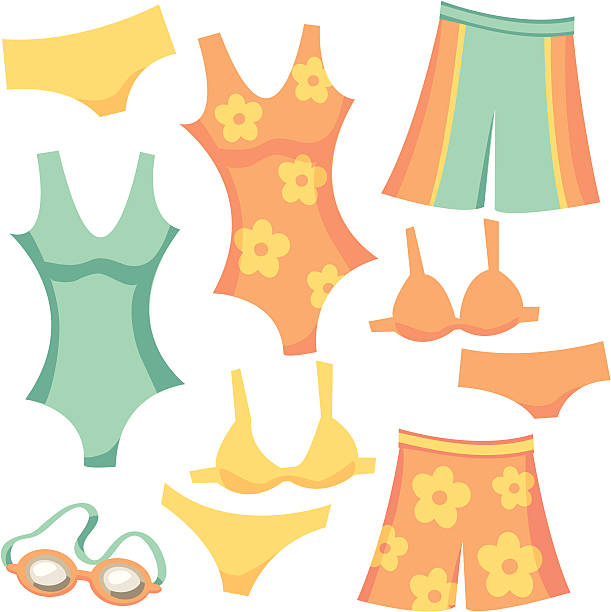 Top 60 One Piece Swimsuit Clip Art Vector Graphics And