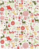 Vintage style holiday Background. EPS8.