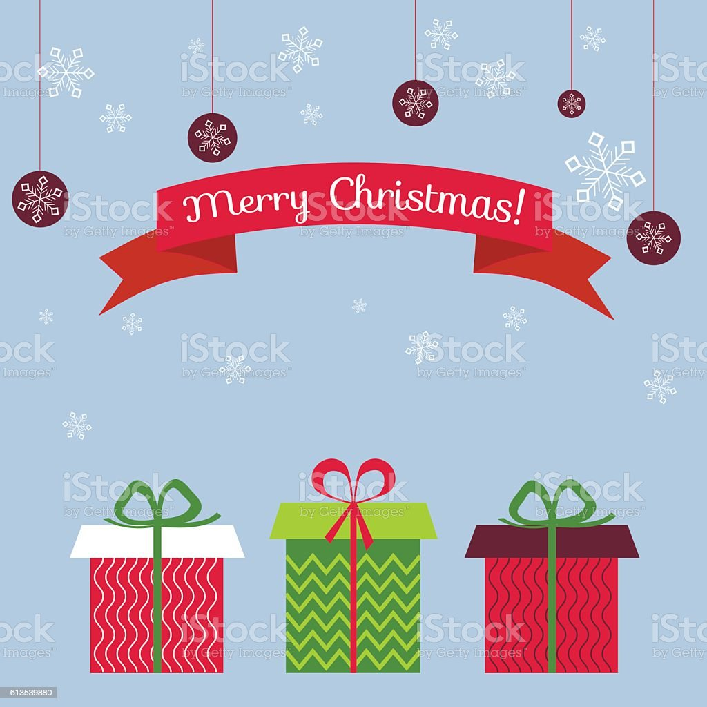 retro christmas card xmas and new year postal royalty free retro christmas card
