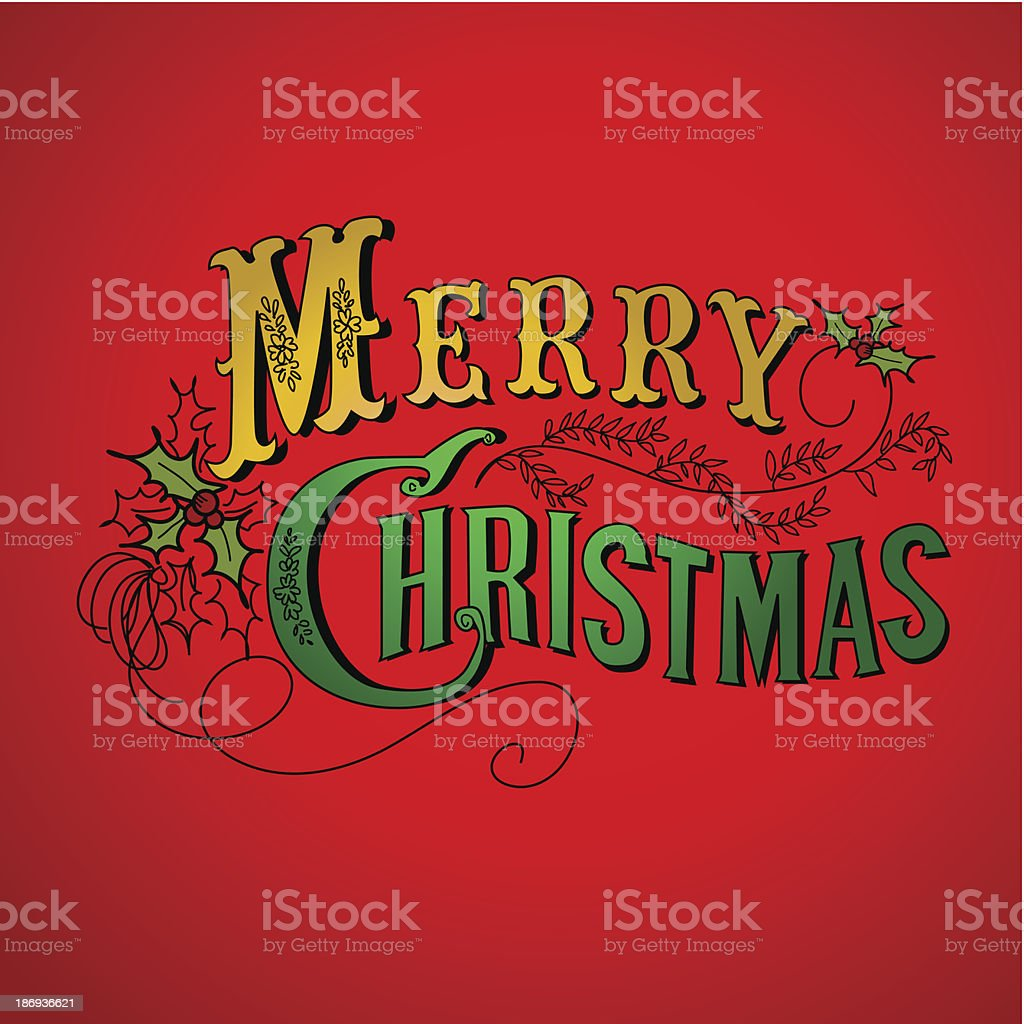 Retro Christmas Design royalty-free retro christmas design stock vector art & more images of backgrounds