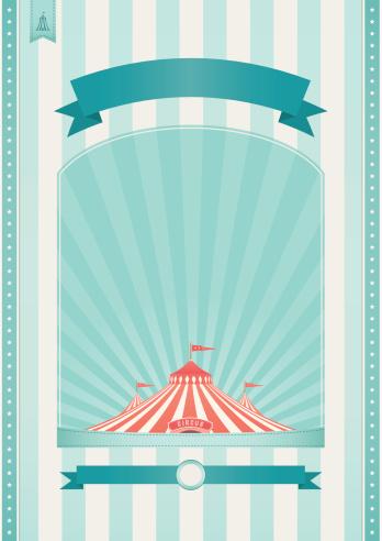 Retro Circus Background
