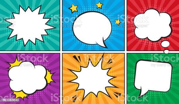 Retro comic empty speech bubbles set on colorful background vector id861063840?b=1&k=6&m=861063840&s=612x612&h=s6p9nc0s3llsyzvw yetruwdq5aqqzqnjomayqvk1de=