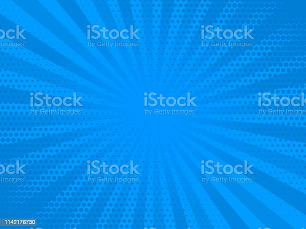 Retro comic rays blue dots background vector illustration in pop art vector id1142176730?b=1&k=6&m=1142176730&s=612x612&h=kggiici9lndn5kcq 5p6ccvc5 w 7rdd8gojfr1w ma=