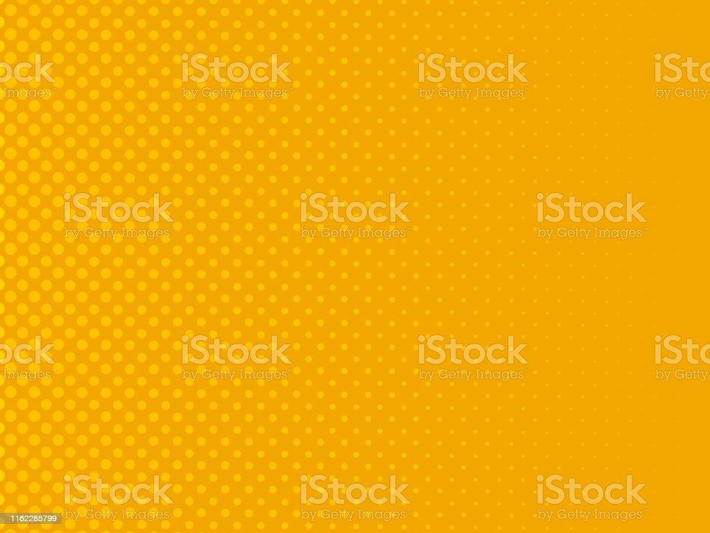 Retro comic yellow background. Vector illustration in pop art retro...