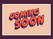 istock Retro Coming Soon sign 1270506492