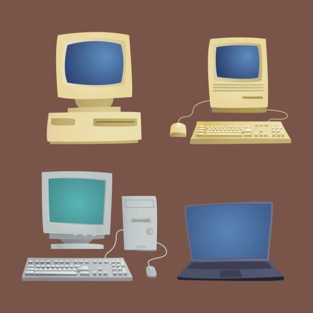 Best Old Computer Mouse Illustrations, Royalty-Free Vector