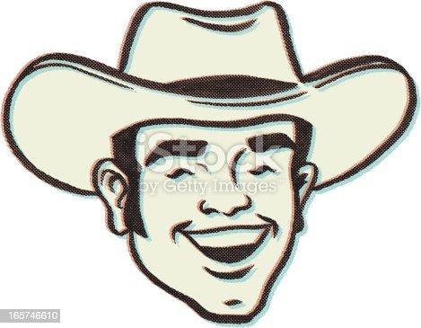 istock retro cow boy 165746610