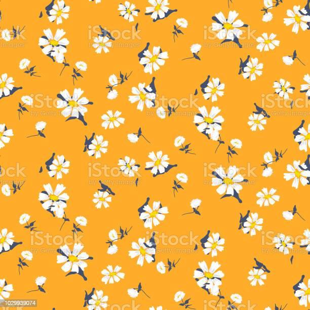 Retro daisy simple yellow florals seamless vector pattern vector id1029939074?b=1&k=6&m=1029939074&s=612x612&h=f9kjl hm56laobtfybfd4ivazll8ylzvbvqlz78dxzc=