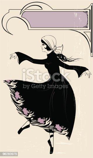 istock Retro danser 96283975