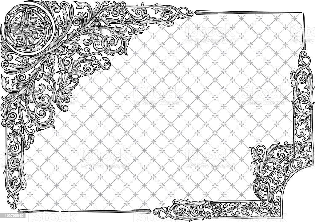 Retro decorative corners royalty-free retro decorative corners stock vector art & more images of abstract