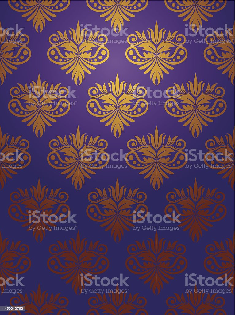 Retro Decorative Pattern vector art illustration