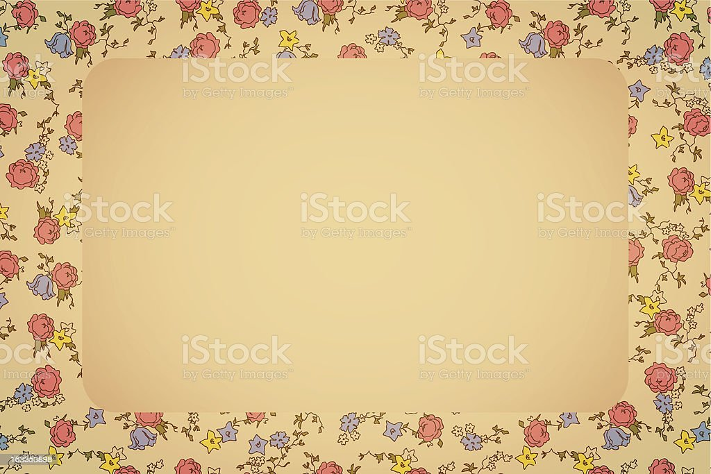 Retro floral card royalty-free retro floral card stock vector art & more images of abstract