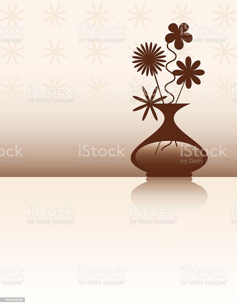 Retro Flower Vase Design royalty-free retro flower vase design stock vector art & more images of beauty