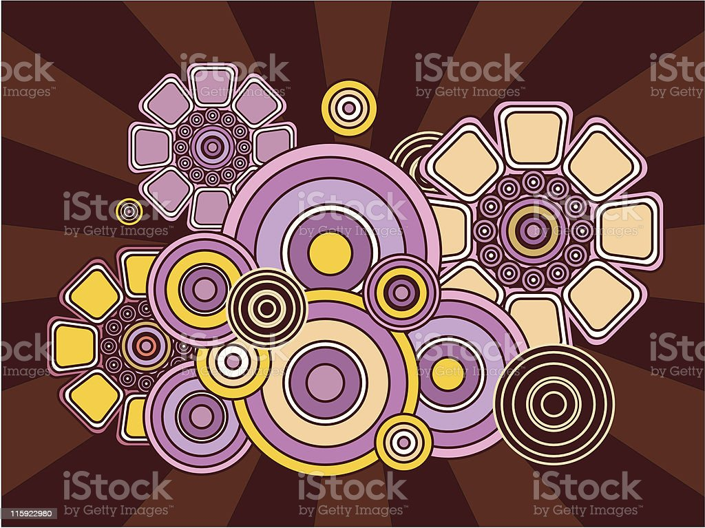 retro flower royalty-free retro flower stock vector art & more images of 1960-1969