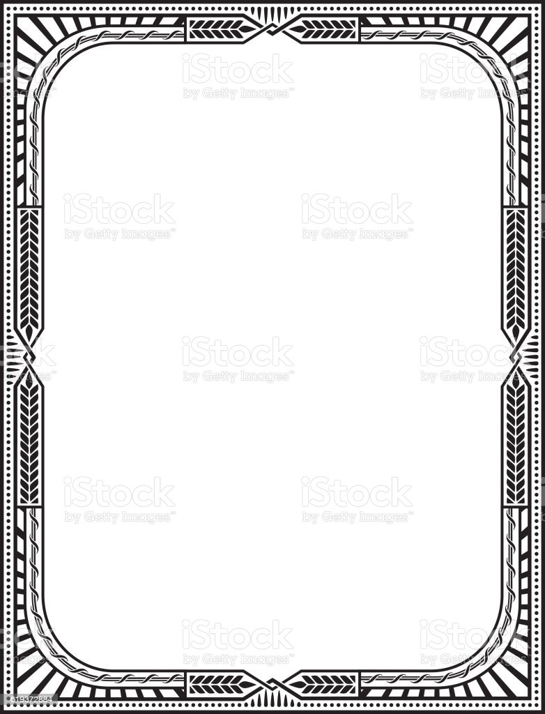 letter page size royalty free stock vector art - Letter Page