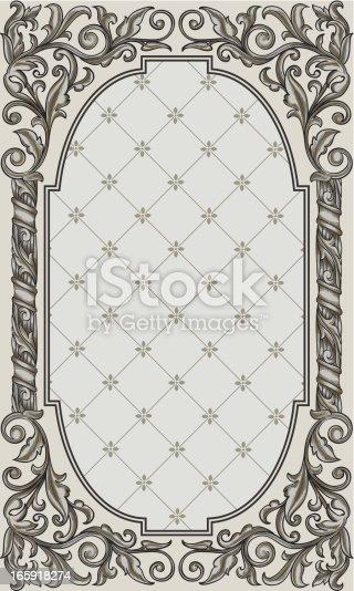 istock Retro frame 165918274