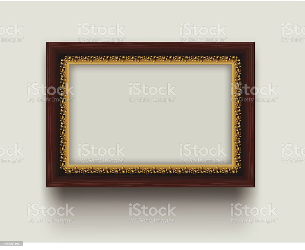 Retro frame royalty-free retro frame stock vector art & more images of antique