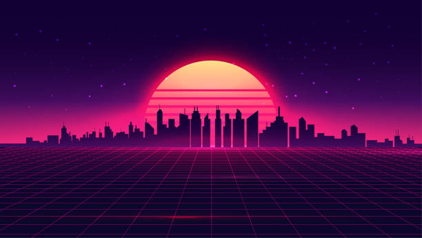 3 982 Synthwave Style Stock Photos Pictures Royalty Free Images Istock