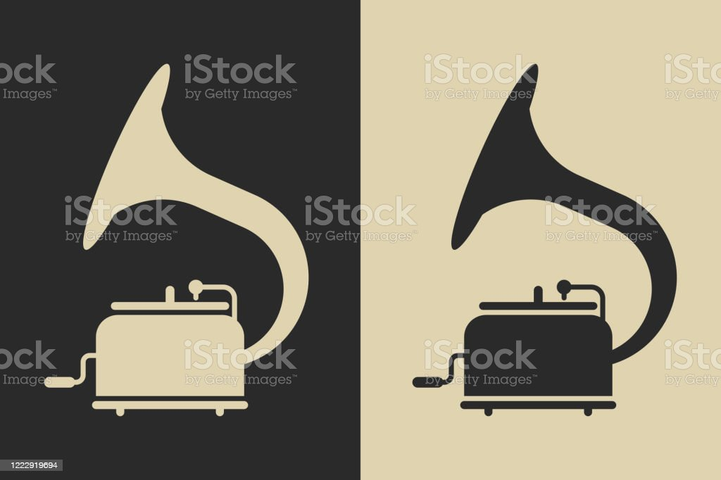 retro gramophone icon antique record player glyph symbol stock illustration download image now istock https www istockphoto com vector retro gramophone icon antique record player glyph symbol gm1222919694 359020158