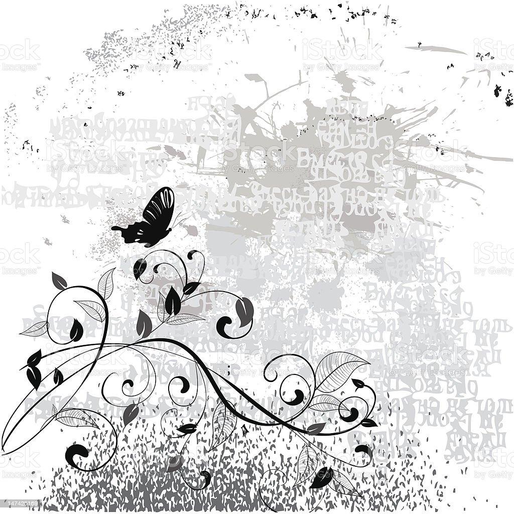Retro grunge vintage background royalty-free stock vector art