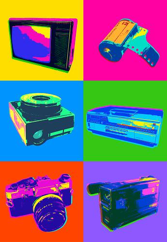Retro Icons - 1980's