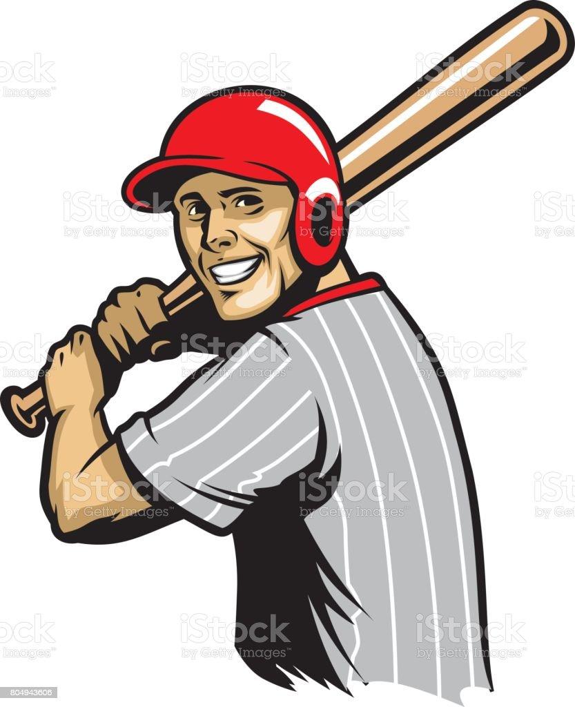 royalty free baseball bat flag clip art vector images rh istockphoto com Baseball Bat Outline Baseball Bat Vector Silhouette