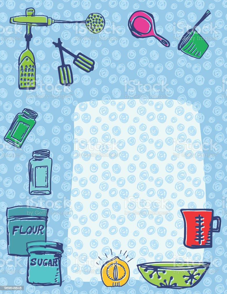 Retro Kitchen Gadgets Backgrounds Royalty Free Retro Kitchen Gadgets  Backgrounds Stock Vector Art U0026amp;