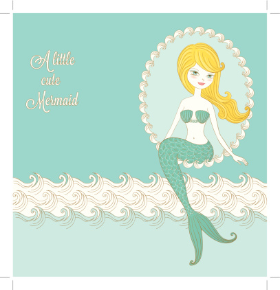 Retro Little Mermaid