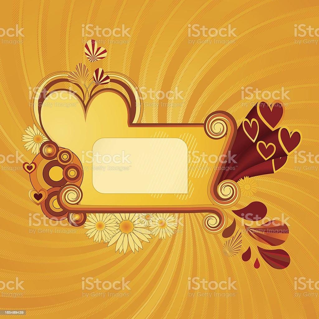 Retro Love royalty-free stock vector art