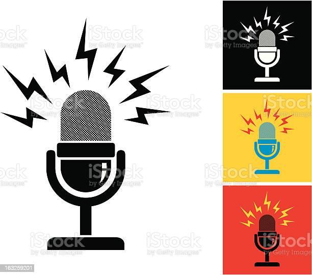 Retro microphone vector id163259201?b=1&k=6&m=163259201&s=612x612&h=fh2alvzfxsunfmwy46 yg i7bq2z qvcdyxamh 3dk8=