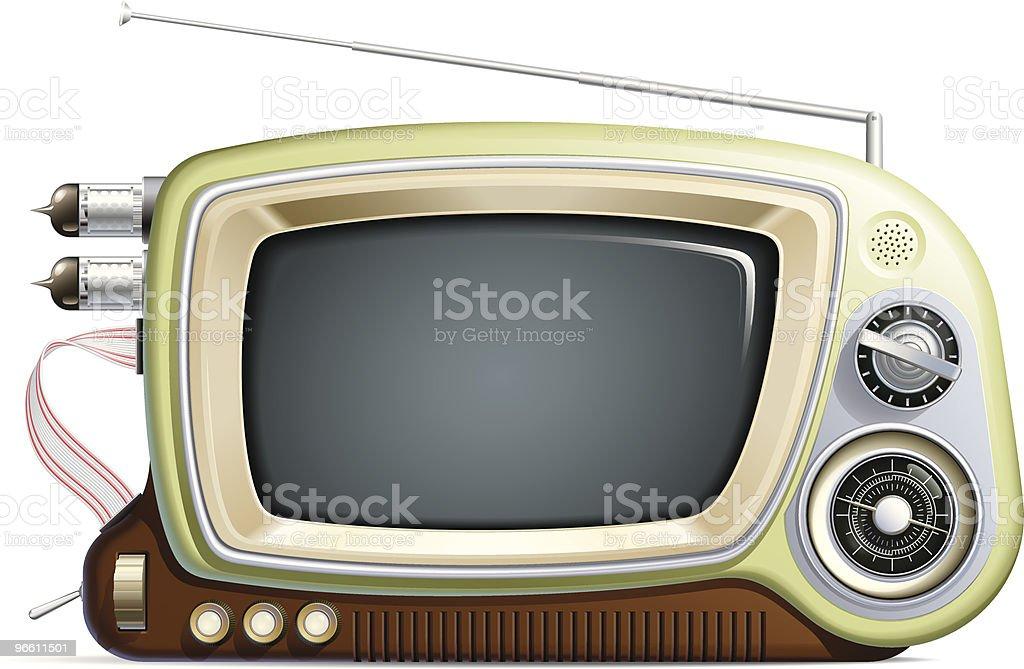 retro multimedia device?! - Royaltyfri Antenn - Telekommunikationsutrustning vektorgrafik