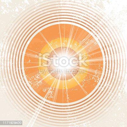 Rays of sunshine template